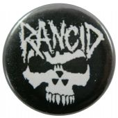 Rancid - 'Skull' Button Badge
